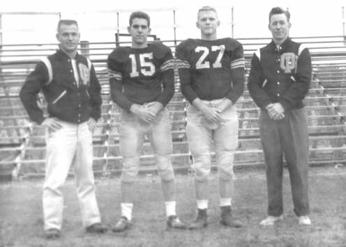 OHHS 1958-1959 Football Team Co-Captains