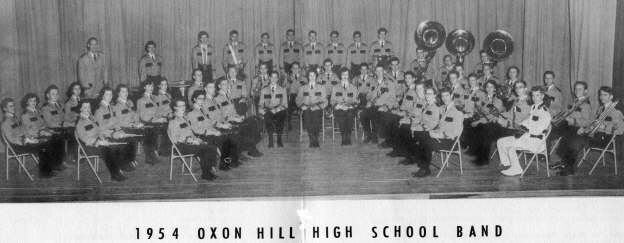 OHHS 1954 Spring Band Concert